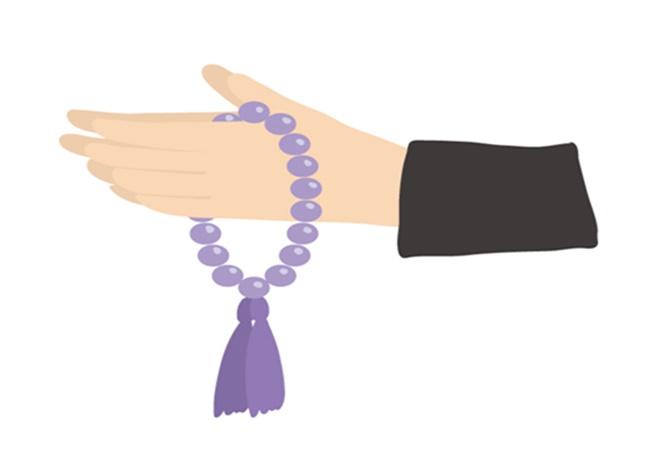 売り場 数珠